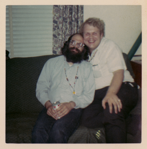 Allen Ginsberg and John Wood